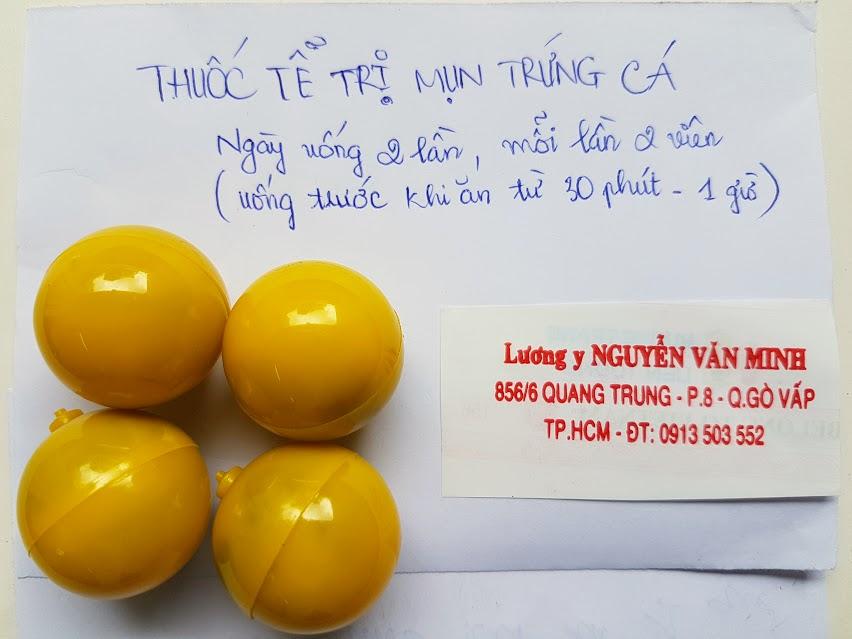 Thuốc tễ trị mụn trứng cá - Thuốc trị mụn đông y hiệu quả.
