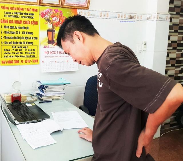 Phòng khám đông y Bảo Minh: Chữa thoát vị đĩa đệm 10 ngày có kết quả